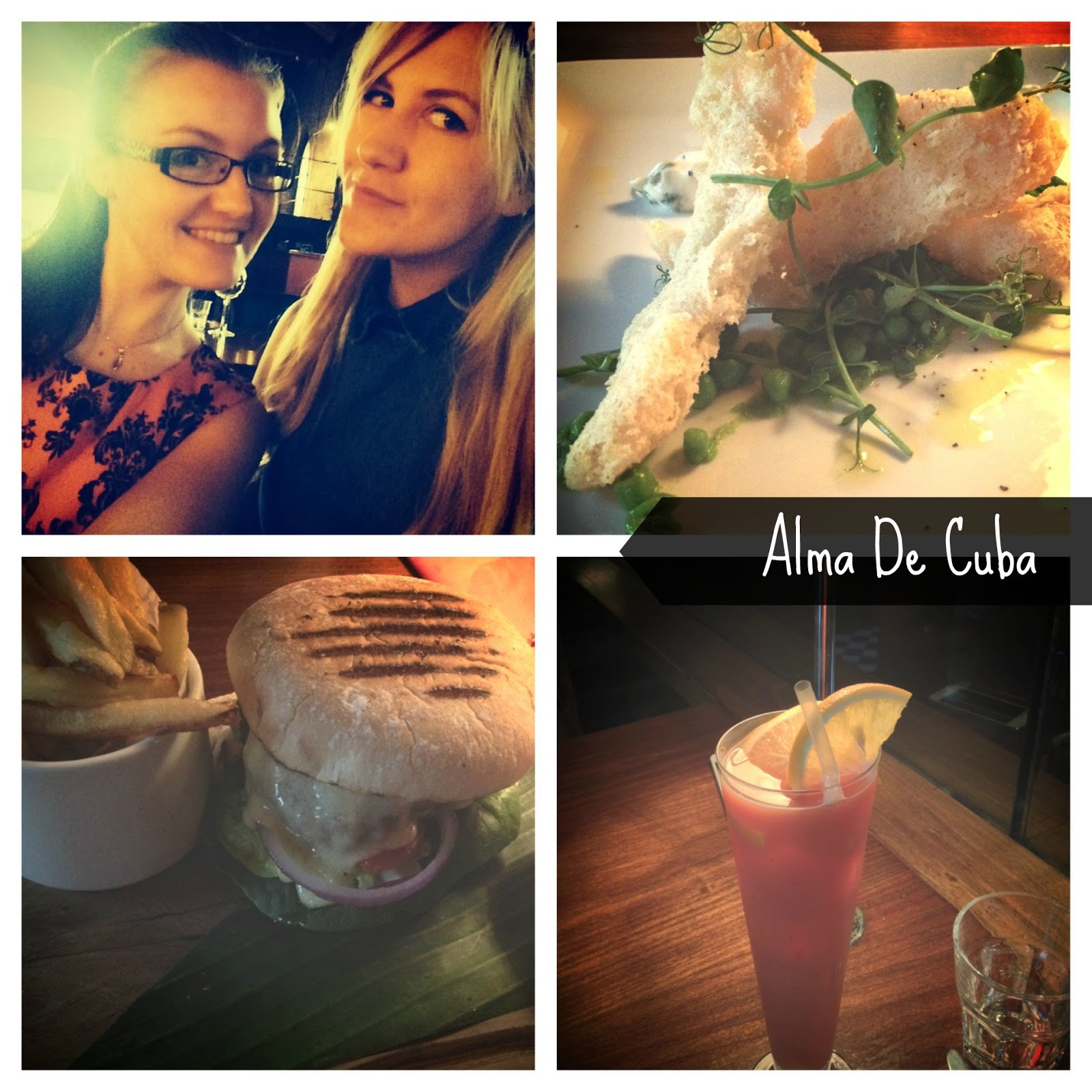 Alma De Cuba Liverpool early bird menu