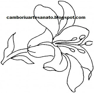 Easter Lily Coloring Page Printable