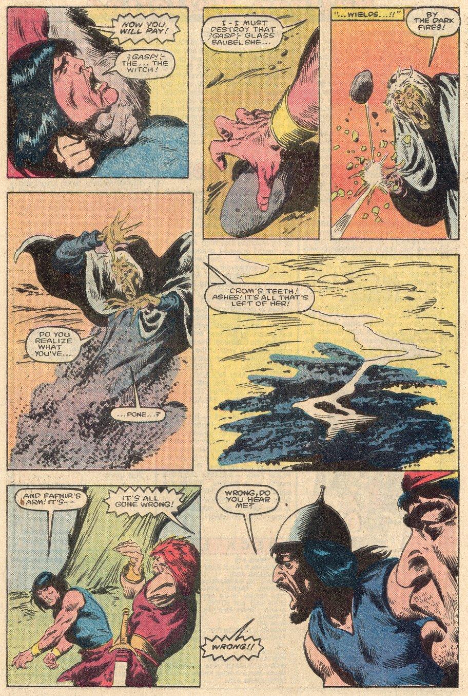 Conan the Barbarian (1970) Issue #161 #173 - English 21