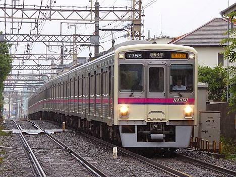 【H26.6.7豪雨運行】レア種別の準特急 高幡不動行きを全車種撮った!