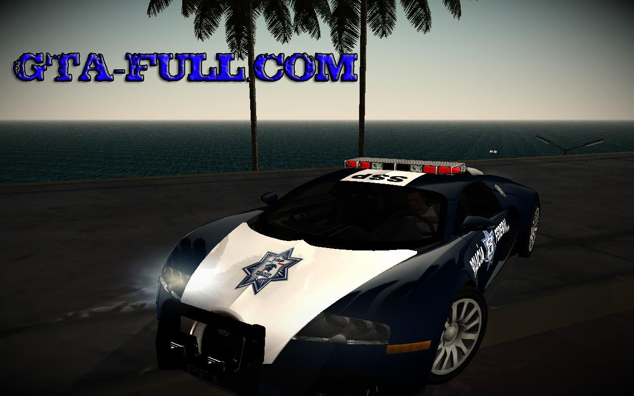 bugatti veyron policia federal. Black Bedroom Furniture Sets. Home Design Ideas