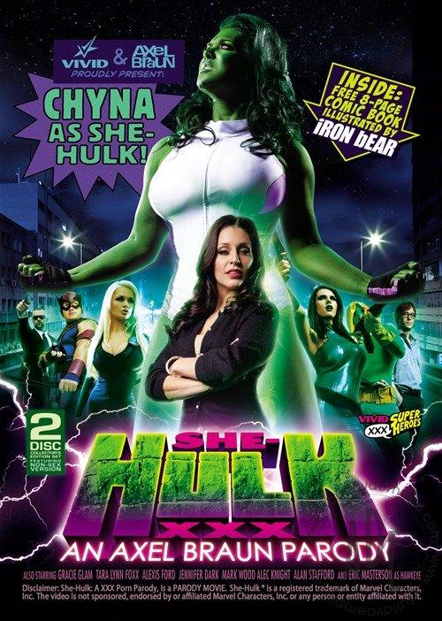 CHYNA NEWS: SHE HULK XXX DVD COVER
