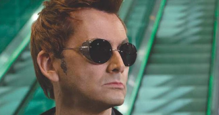 New Interview David Tennant On Good Omens Crowley Hes