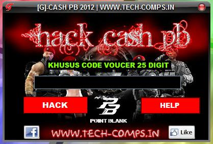 Cash PB Hack 2012 PointBlank Cheat Cash