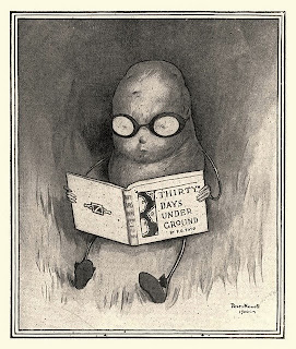 illustration by peter newell from the childrens book bad potato reading