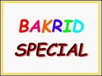 Bakrid Special