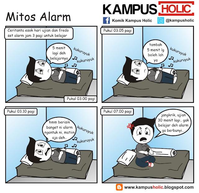 #134 Mitos Alarm mahasiswa