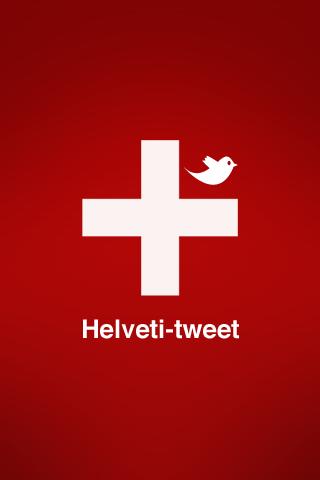 Helveti-tweet