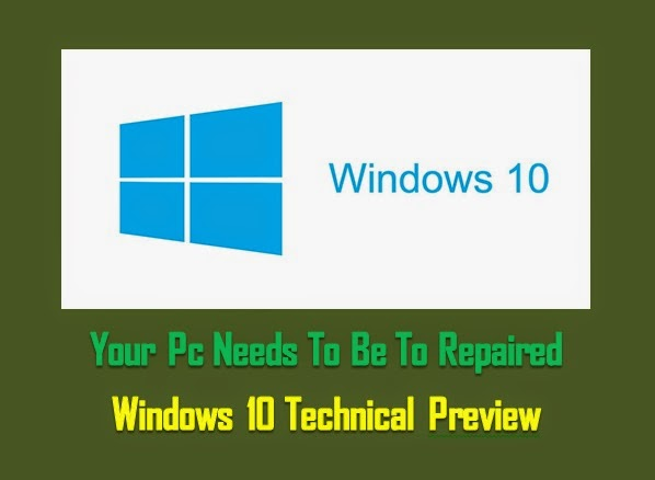 Your PC Needs To Be Repaired Windows 10 Installation Error (Solution)