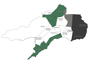 Mapa desta URE