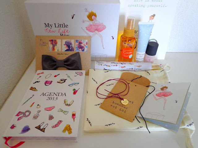 My little New Life box de janvier