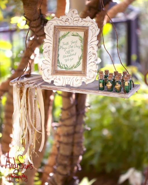 Disney Wedding Inspiration: Whimsical Peter Pan and Wendy Darling Styled Wedding Photo Shoot by Andy Sams Photography