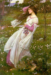 Ressam: John William Waterhouse (d.1849 Roma, İtalya-ö.1917 Londra, İngiltere)