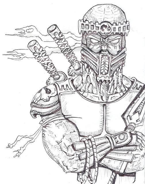 Dibujos Para Pintar Mortal Kombat 9 - Dibujos Para Pintar