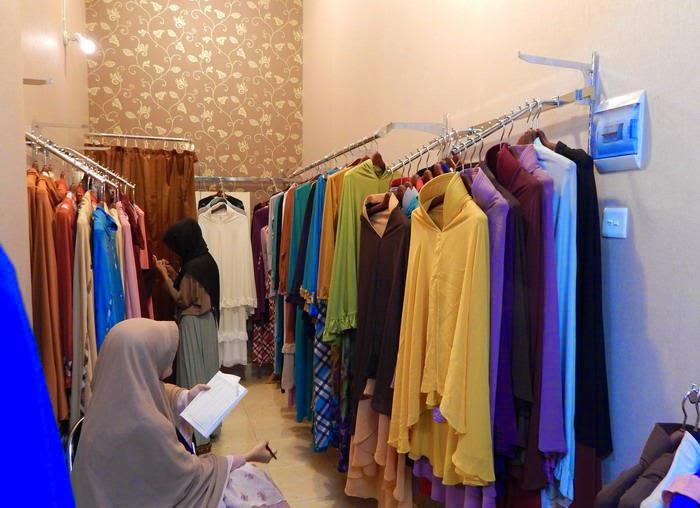 Pusat Grosir Baju Muslimah Syar'i