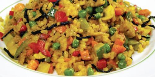 receta: Paella Vegetal