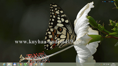 THEME WINDOWS 8 BUTTERFLY