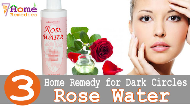 Healthy rose water