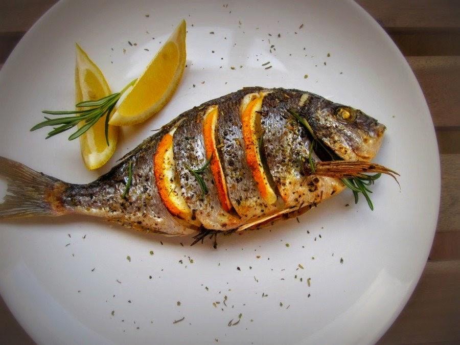Baked dorada with lemon recipe jennifer recipes for How to season fish for baking