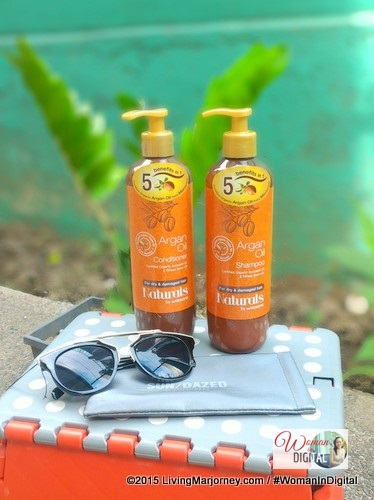 Watsons Argan Oil Shampoo and Conditioner