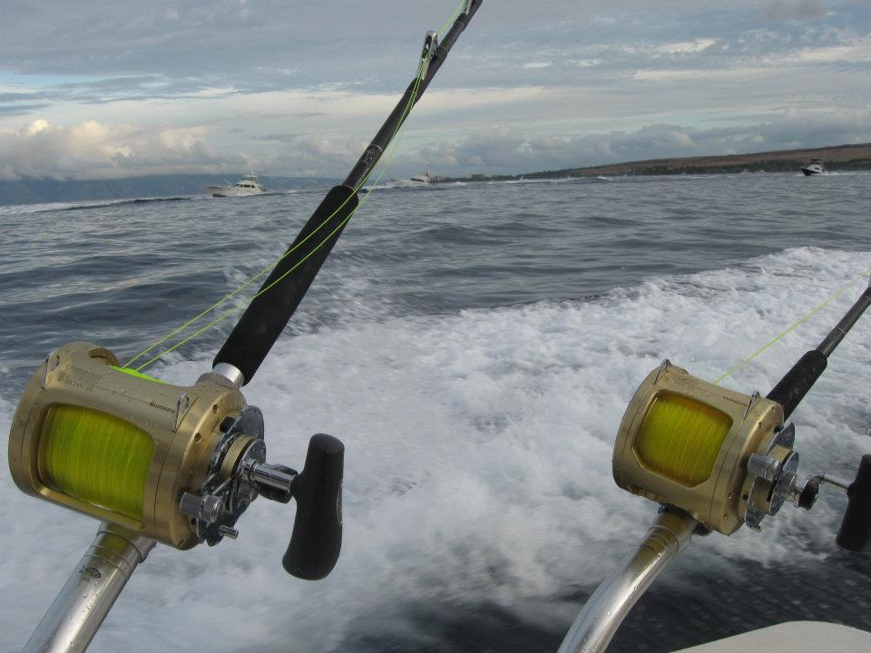 Maui fishing charters today 39 s fresh catch start me up for Maui sport fishing
