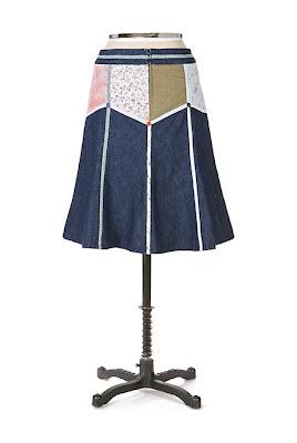 Anthropologie Hope Chest Skirt