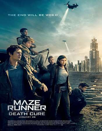 Poster Of Maze Runner: The Death Cure In Dual Audio Hindi English 300MB Compressed Small Size Pc Movie Free Download Only At exp3rto.com