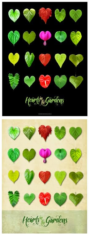 Hearts in the Gardens poster!