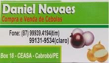 Daniel Novais, compra e venda de cebolas.