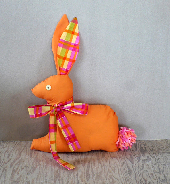 fabric rabbit