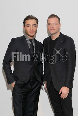 SIMON SPURR   Ed Westwick   Simon Spurr2 NYFW Review & Photos: Simon Spurr Autumn/Winter 2011 Collection