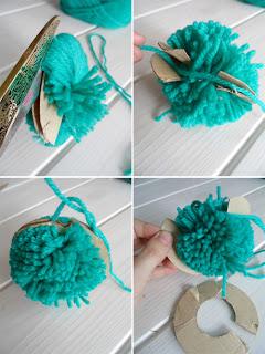 Anita tutoriales variados - Como hacer pompones de lana rapido ...