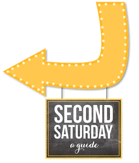 A Second Saturday Arts, Entertainment, Food and Shopping Guide