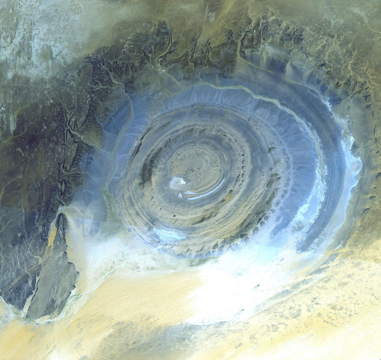 A closer view of the Richat Structure