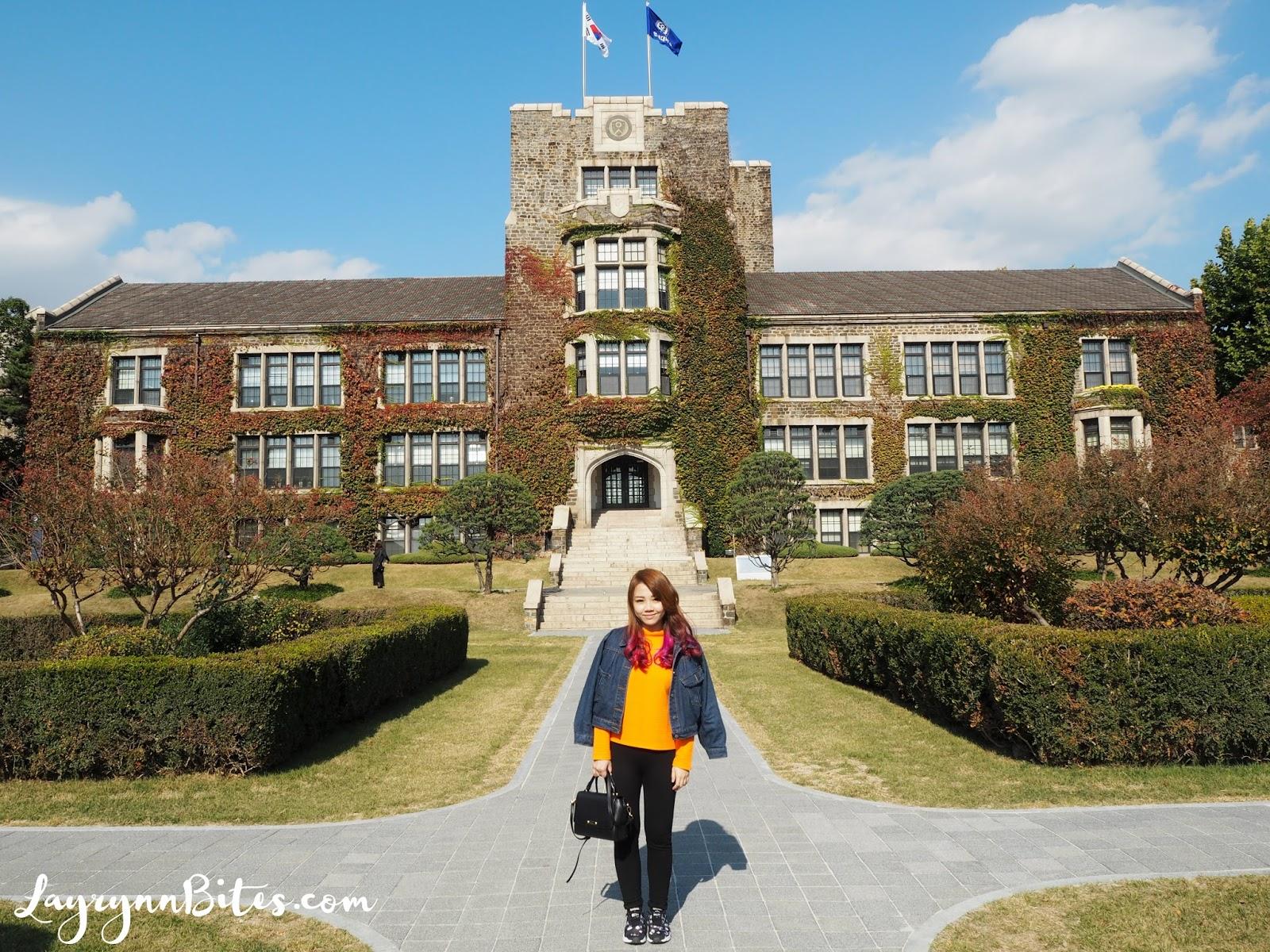 Yonsei University Seoul Korea Carmen Layrynn Malaysia Beauty Travel Lifestyle Blogger