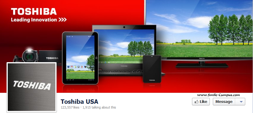 Toshiba on Facebook