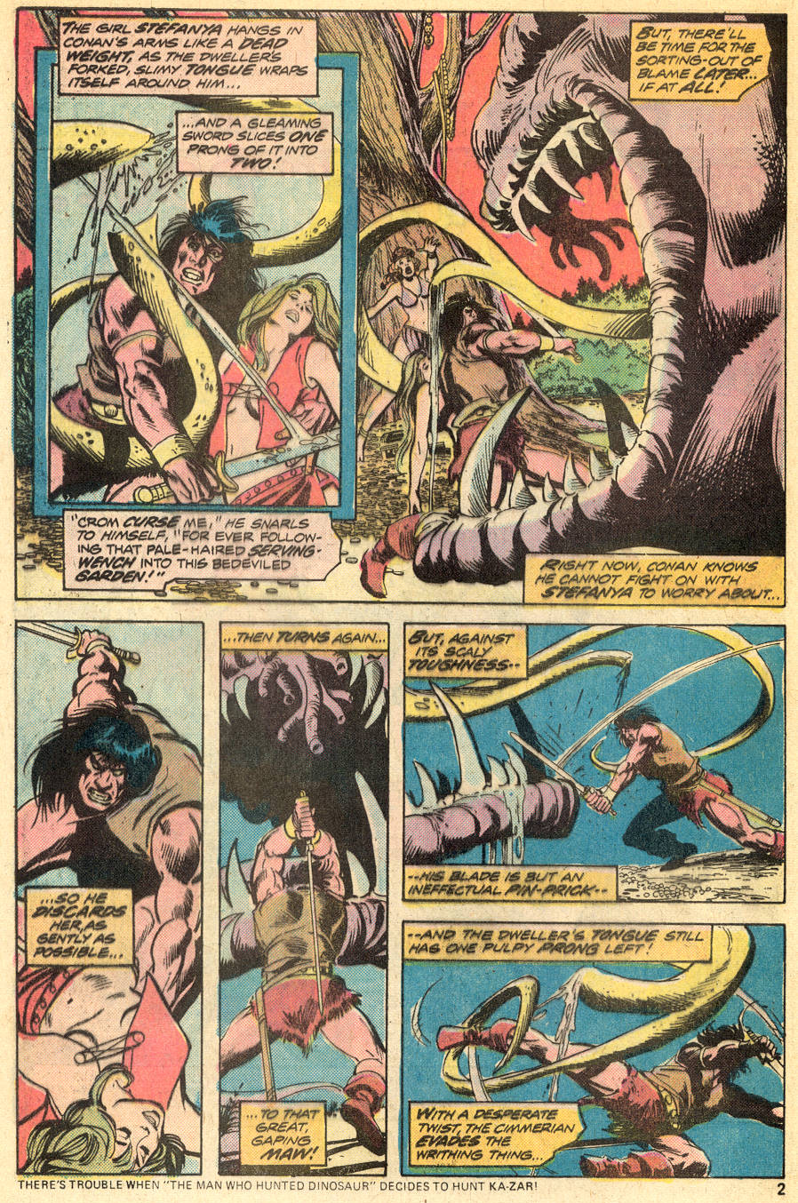 Conan the Barbarian (1970) Issue #50 #62 - English 3
