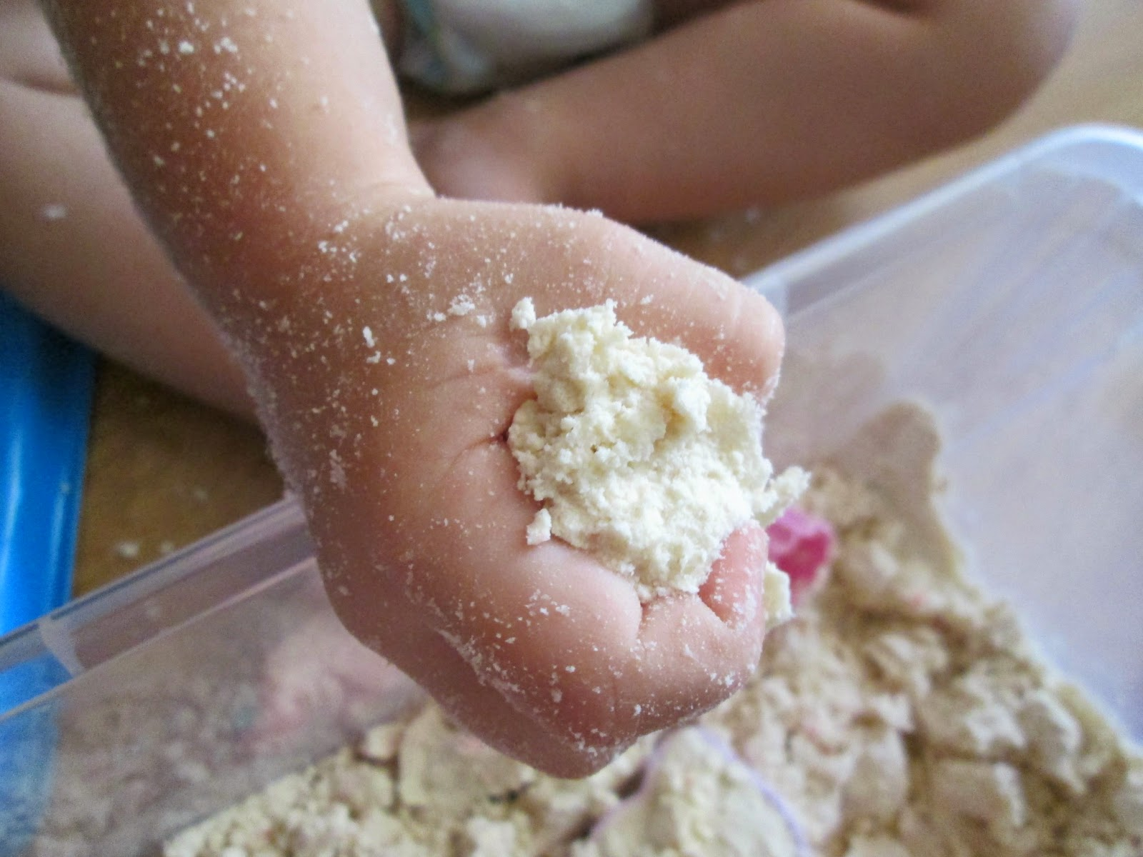 receta cloud dough
