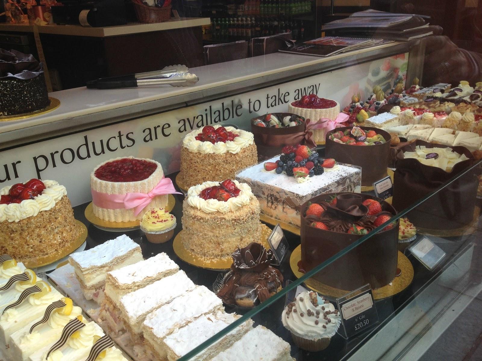 tårtor och bakelser