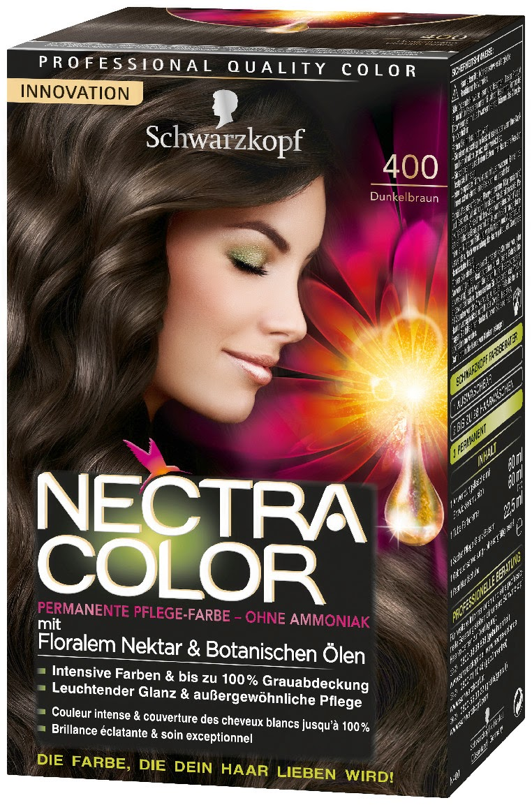 schwarzkopfs new permanent hair color nectra color - Schwarzkopf Nectra Color