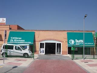 exterior instalaciones calor verde