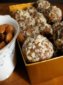 healthy paleo sweets made with dates and honey
