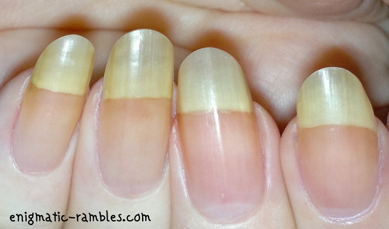 OMG-Nail-Strips-Black-Peppermint-Review-Demo