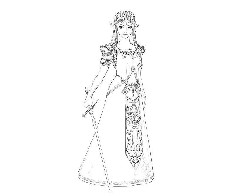 Princess Zelda Sword | jozztweet