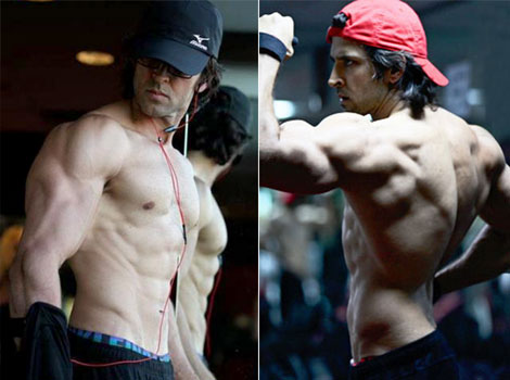 Hrithik Roshan New look for Krrish 3 - Movie Maza