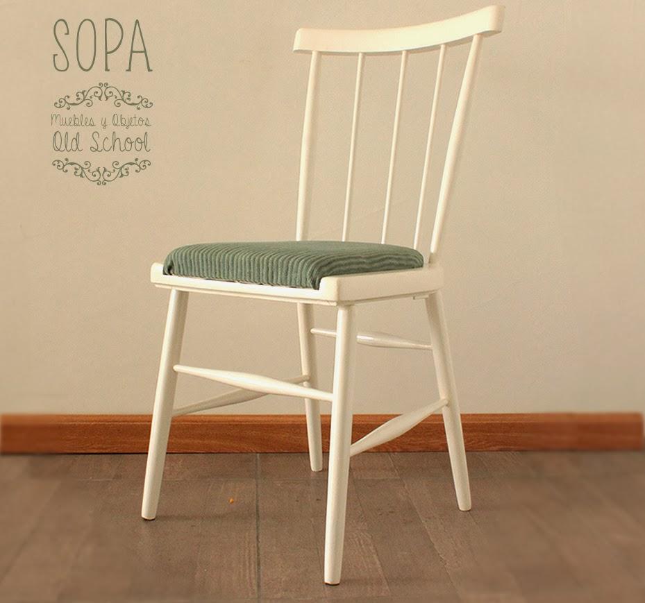 Sopa muebles y objetos old school silla escandinava anette for Silla escandinava