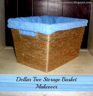 Dollar Tree Storage Basket Makeover Jordan S Easy