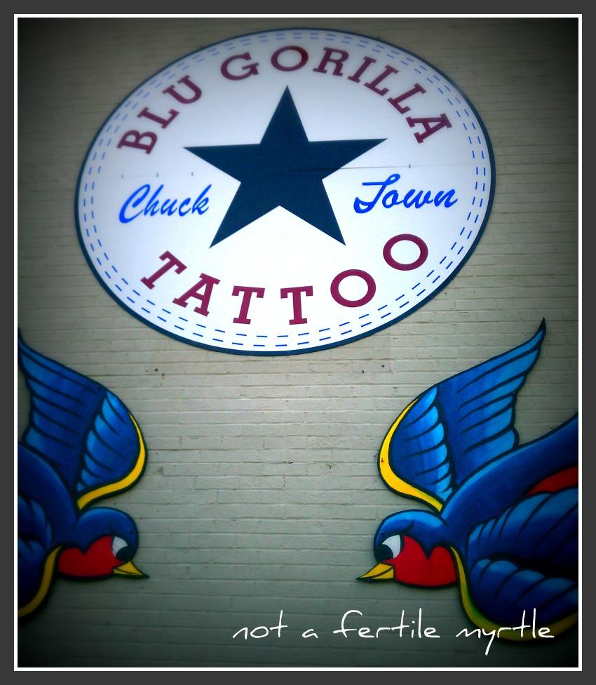 chicano script latin Tattoo by