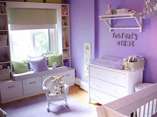 Gu a pr ctica para preparar la habitaci n del beb - Pintura para habitacion de bebe ...