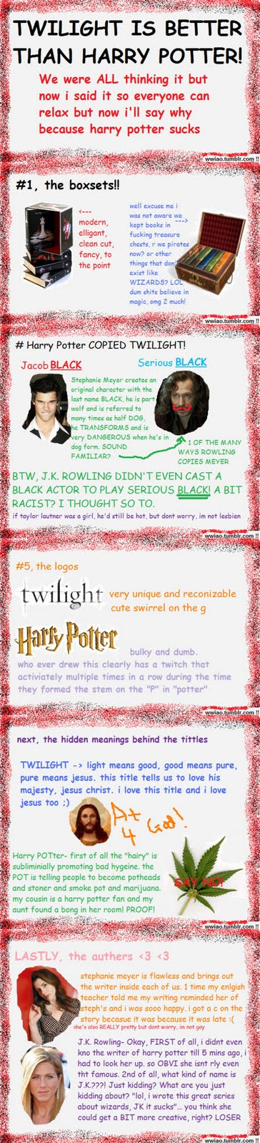 twillight vs harry potter